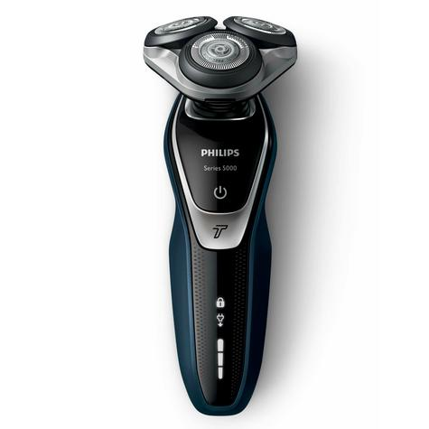 Philips S5360/06 5000 Wet Dry Men's Electric Shaver | Turbo Mode | Precision Trimmer Thumbnail 2