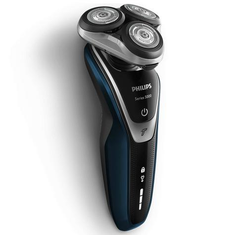 Philips S5360/06 5000 Wet Dry Men's Electric Shaver | Turbo Mode | Precision Trimmer Thumbnail 3