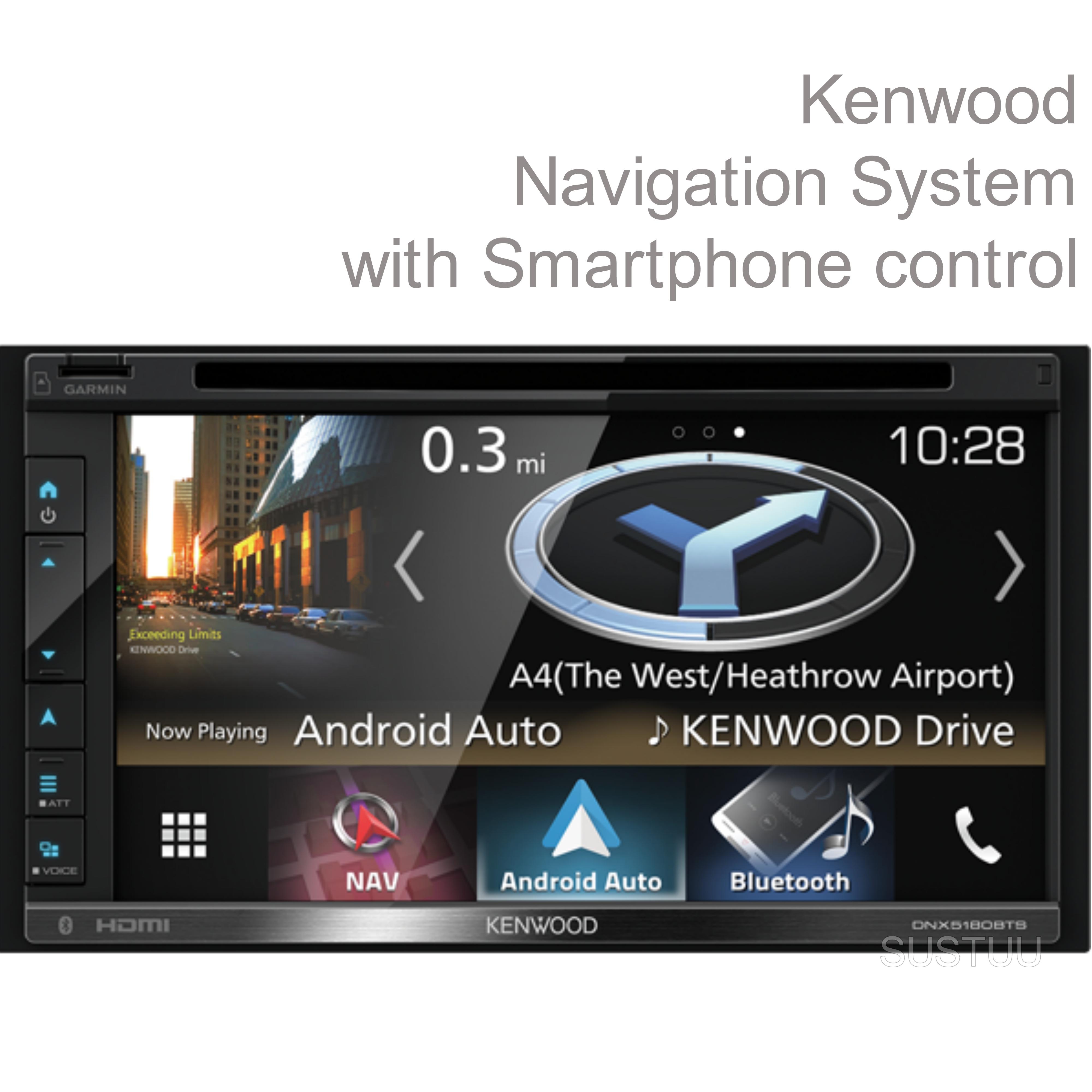 navigation bluetooth dnx 5180bts kenwood double din. Black Bedroom Furniture Sets. Home Design Ideas