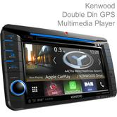 Kenwood 6.8'' Multimedia Player|GPS/Mp3/Bluetooth/Apple CarPlay|DNX 518VDABS T5