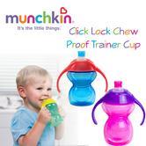 Munchkin Click Lock Chew Proof Trainer Cup|Baby Feeding|100% Leak Proof|227ml Capicity