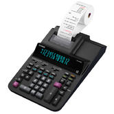 Casio 12 Digit Display Heavy Duty Printing Calculator With Time-Date Stamp?Black