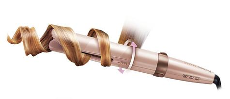Remington Curl Revolution Hair Curler | Automatic Styler Tong | Digital Display | Pink Thumbnail 3