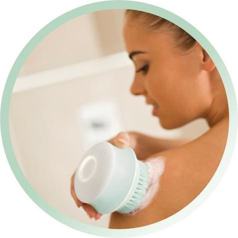 Remington Reveal Wet & Dry Rotating Body Brush   Bath Exfoliating Scrubs   Cordless Thumbnail 6
