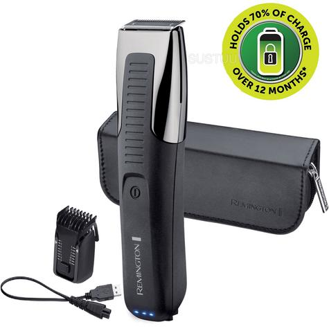 Remington Beard Trimmer | Rechargeable Electric Groomer | Endurance Technology | MB4200 Thumbnail 1