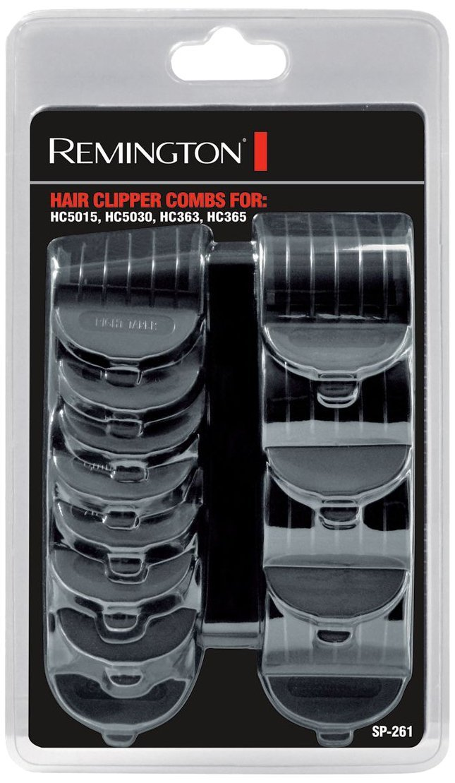 Remington Hair Clipper Combs (Pack of 12) | For HC5015, HC5030, HC363, HC365 | SP261