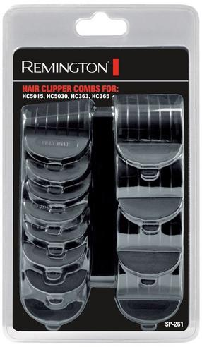 Remington Hair Clipper Combs (Pack of 12) | For HC5015, HC5030, HC363, HC365 | SP261 Thumbnail 1