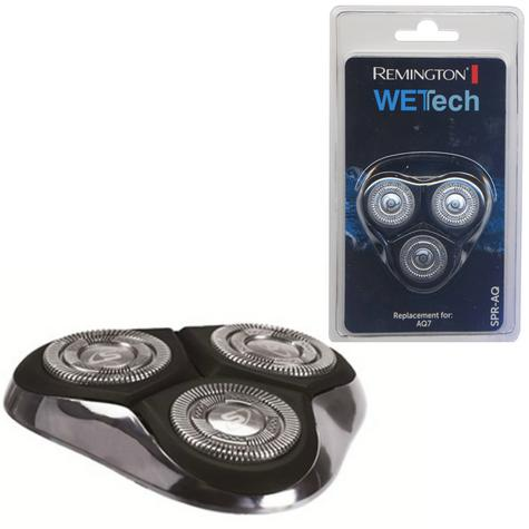 Remington WetTech Spare Shaver Head | Replacement Rotary Cutting Blades | For AQ-7  Thumbnail 1