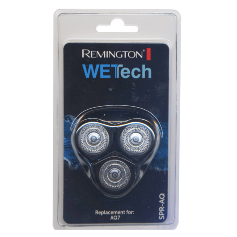 Remington WetTech Spare Shaver Head | Replacement Rotary Cutting Blades | For AQ-7  Thumbnail 2
