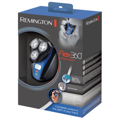 Remington Flex 360 Rotary Electric Shaver | ComfortTrim Detail Trimmer | Dual Blades Thumbnail 7