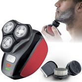 Remington Flex 360 Rotary Electric Shaver Grooming Kit | Beard Trimmer & 2 Brushes