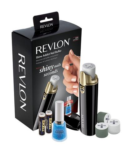 Revlon Shine Addict Electirc Nail Buffer & Polisher | Fast Manicure-Pedicure Tools Thumbnail 2