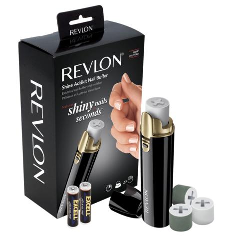 Revlon Shine Addict Electirc Nail Buffer & Polisher | Fast Manicure-Pedicure Tools Thumbnail 4