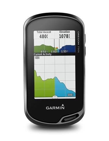Garmin Oregon 750T Handheld GPS + Europe TopoActive Maps | Built-in Wi-Fi & Camera Thumbnail 3