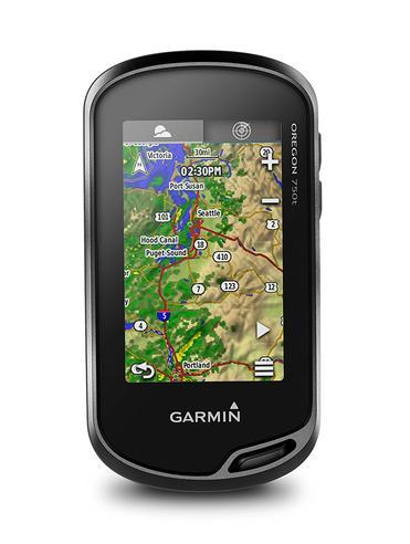 Garmin Oregon 750T Handheld GPS + Europe TopoActive Maps | Built-in Wi-Fi & Camera Thumbnail 4