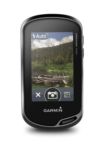 Garmin Oregon 750T Handheld GPS + Europe TopoActive Maps | Built-in Wi-Fi & Camera Thumbnail 5