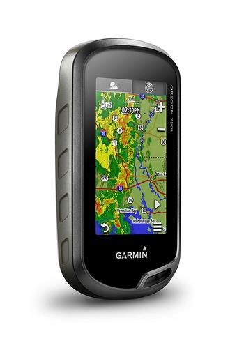 Garmin Oregon 750T Handheld GPS + Europe TopoActive Maps | Built-in Wi-Fi & Camera Thumbnail 7