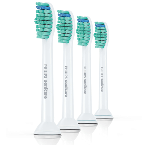 Philips Sonicare Standard Electric Toothbrush Heads (Pack of 4) | Replacement Brush Thumbnail 2