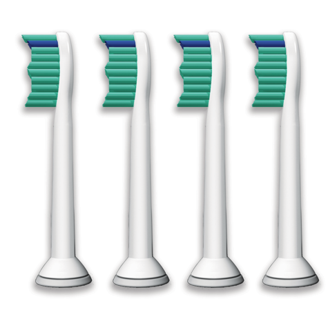 Philips Sonicare Standard Electric Toothbrush Heads (Pack of 4) | Replacement Brush Thumbnail 3