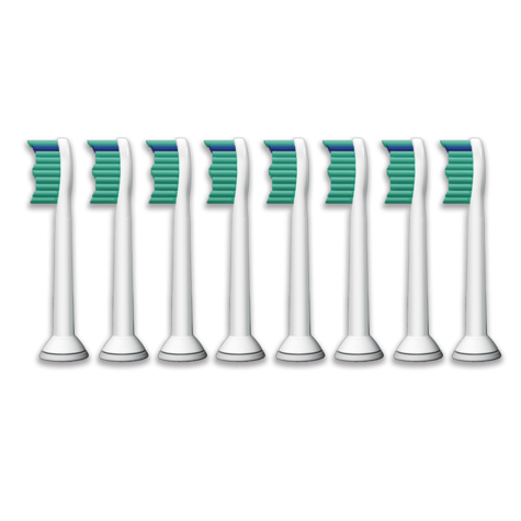 Philips Sonicare ProResults Sonic Toothbrush Heads (Pack of 8) | Replacement Heads Thumbnail 2