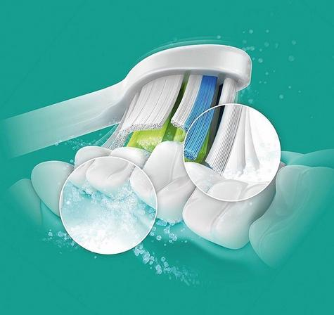 Philips Diamond Clean Sonic Toothbrush Replacement Heads (Pack of 2) | Standard Size Thumbnail 5