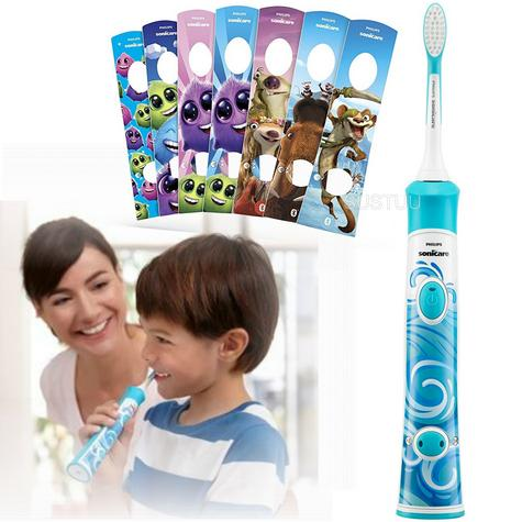Philips Sonicare Electric Rechargeable Toothbrush | Kids Oral | Age Appropriate Head Thumbnail 1