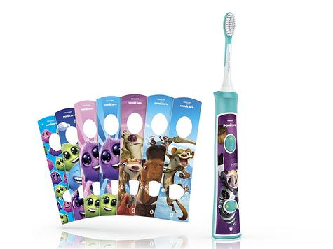 Philips Sonicare Electric Rechargeable Toothbrush | Kids Oral | Age Appropriate Head Thumbnail 3