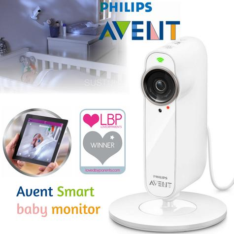 Philips Avent uGrow Smart Baby Camera & Monitor|Lullabies|Nightlight|Recording? Thumbnail 1