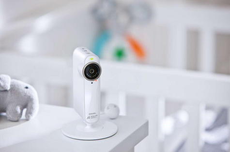 Philips Avent uGrow Smart Baby Camera & Monitor|Lullabies|Nightlight|Recording? Thumbnail 2