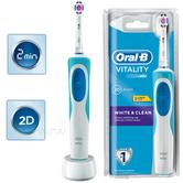 Oral-B Vitality White & Clean Rechargeable Electric Toothbrush | 2 Minute Timer | NEW