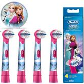 Oral-B Stages Power Replacement Toothbrush Heads (Pack of 4) | Kids Frozen Character