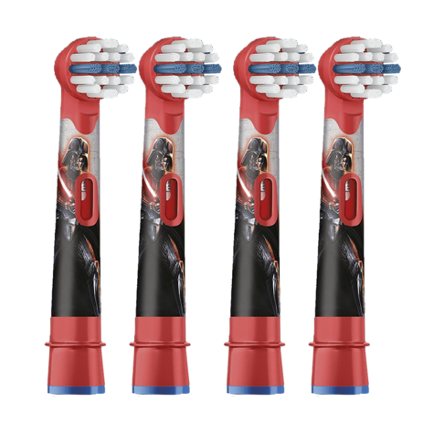 Oral-B Stages Power Replacement Toothbrush Heads (Pack of 4) | Kids Star Wars | NEW Thumbnail 2