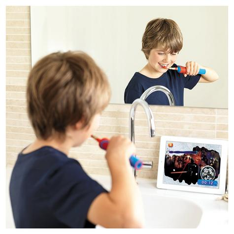Oral-B Stages Power Kids Electric Toothbrush Set | Toothpaste | Star Wars Characters Thumbnail 5