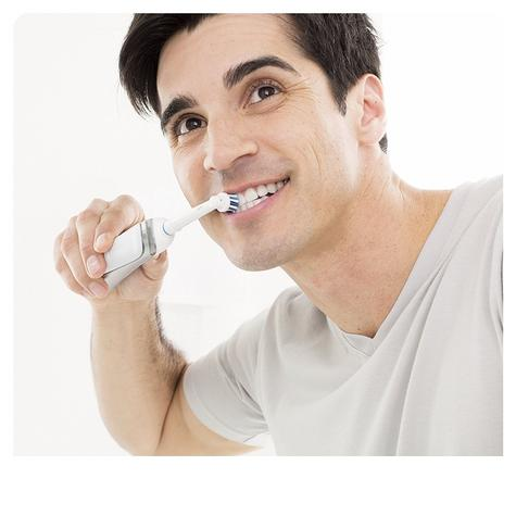 Oral B Vitality Plus TriZone Electric Rechargeable Toothbrush | Oral Care | 2D Action Thumbnail 5