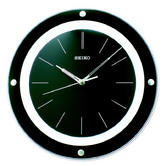 Seiko QXA314J Stylish Wall Clock|Analogue Display|Plastic/Resin Material|Black