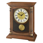 Seiko QXQ034B Table/Desk & Anniversary Standing Wooden Clock|Pendulum|Dual Chime