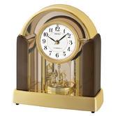 Seiko QXW248G Melody Mantel Clock|Marble Stone Case|Marble Stone Case|Dark Brown