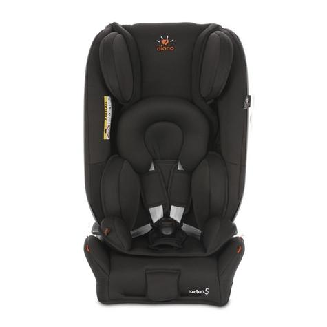 Diono Radian 5 Midnight Black DNO-CAR01| Baby Child Convertible Car Travel Seat Thumbnail 2