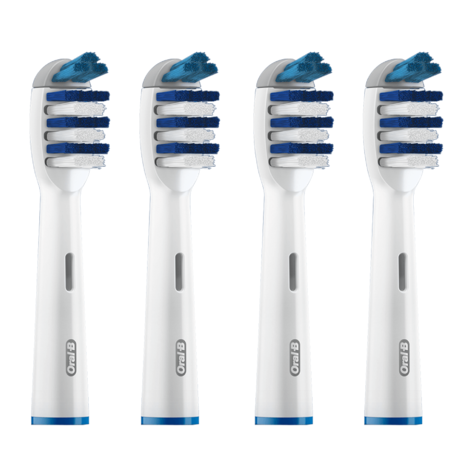 Oral-B Trizone Replacement Brush Heads (Pack of 4) | Triple Action Deep Cleaning Thumbnail 2