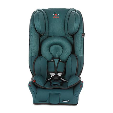 Diono Radian 5 Lagoon DNO-CAR01 Baby Child Convertible Car Travel Seat Foldable Thumbnail 2