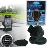 iSynergy Universal in Car Windscreen Dash Mount | 360° Holder | For Mobile Phone, GPS/ SATNAV, Mp3 Player