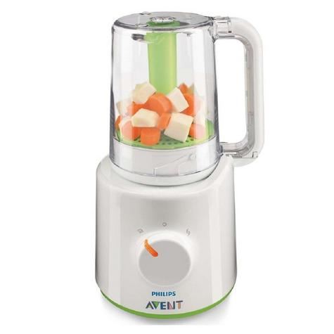 Philips Avent Combined Steamer & Blender|BPA Free Processor|SCF870/21|For Baby Thumbnail 2