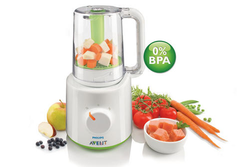 Philips Avent Combined Steamer & Blender|BPA Free Processor|SCF870/21|For Baby Thumbnail 4