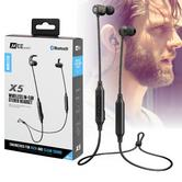 MEE audio X5 Wireless Bluetooth In-Ear Headphone | Noise Isolating | Gunmetal Grey