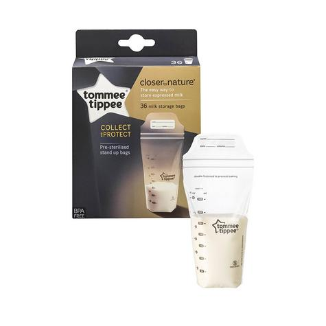 Tommee Tippee Breast Milk Storage Bags   Pre-sterilised   Closer to Nature   36 Bags Thumbnail 5