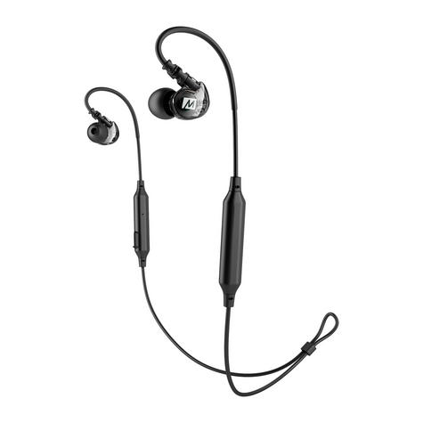 MEE Audio X6 Bluetooth Wireless Sports In-Ear Headset|Sweat Res.|Clear Sound - NEW Thumbnail 3