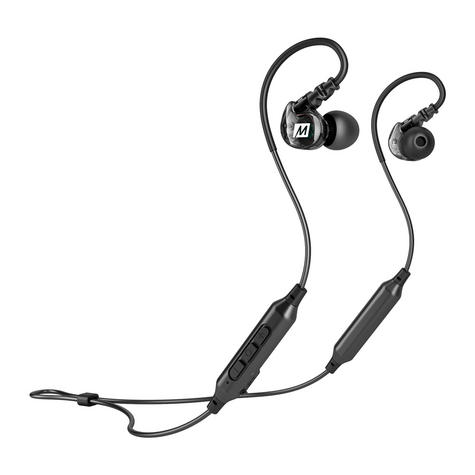 MEE Audio X6 Bluetooth Wireless Sports In-Ear Headset|Sweat Res.|Clear Sound - NEW Thumbnail 4