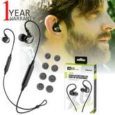 MEE Audio X6 Bluetooth Wireless Sports In-Ear Headset|Sweat Res.|Clear Sound - NEW