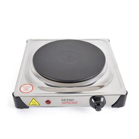 Lloytron E4103 Kitchen Perfected Single Induction Hotplate | 1500W | Stainless Steel Thumbnail 2