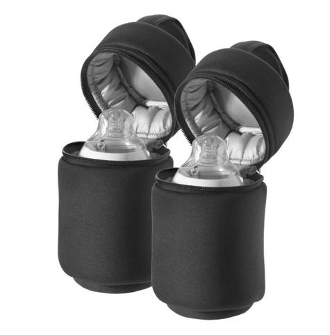 Tommee Tippee Closer to Nature Insulated Baby Bottle Carrier 2Pk    Warm & cold   New Thumbnail 4